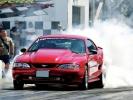 Ford Mustang на дрэгрейсинге