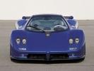 Pagani Zonda C12 S вид спереди (синяя)