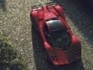 Pagani Zonda C12 S вид сверху (красная)