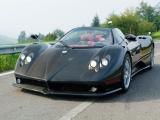 Pagani Zonda F Roadster: вид спереди (карбон)