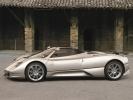 Pagani Zonda Roadster: вид сбоку (серый)