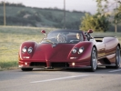 Pagani Zonda Roadster: вид спереди (красный)