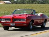 Кабриолет Pontiac GTO (1968 год)