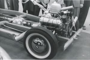 Двигатель V8 на шасси
