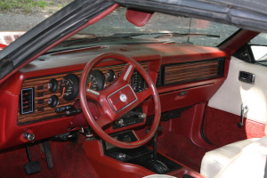 Ford Mustang III interior 1983