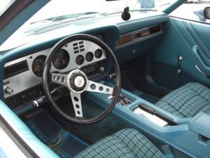Forn Mustang 1978 interior