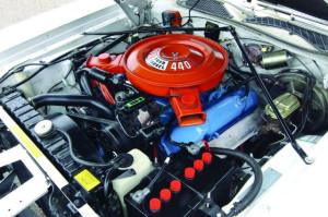 Dodge Charger SE 1972 engine