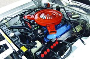 Dodge Charger SE 1972 engine