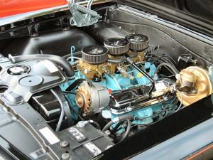 Двигатель Pontiac GTO 389 V8 Tri-Power 1965 год