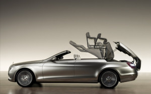 Кабриолет Mercedes S-Class