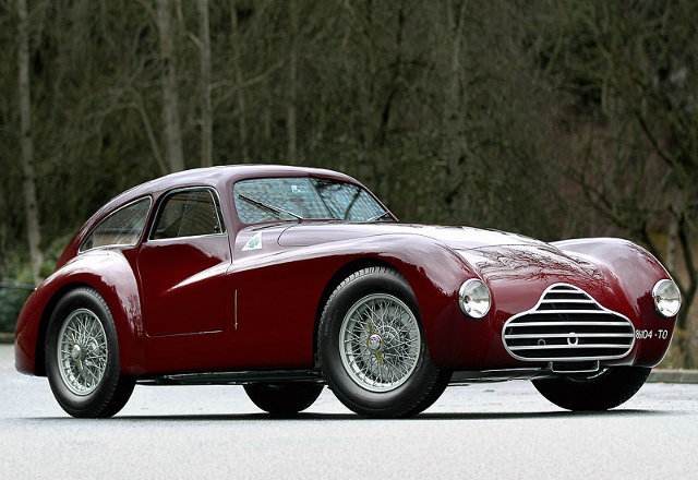 1948 Alfa Romeo 6C 2500 Competizione; top car design rating and specifications
