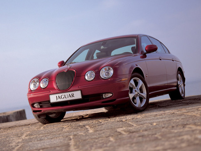 2003 Jaguar S-Type.