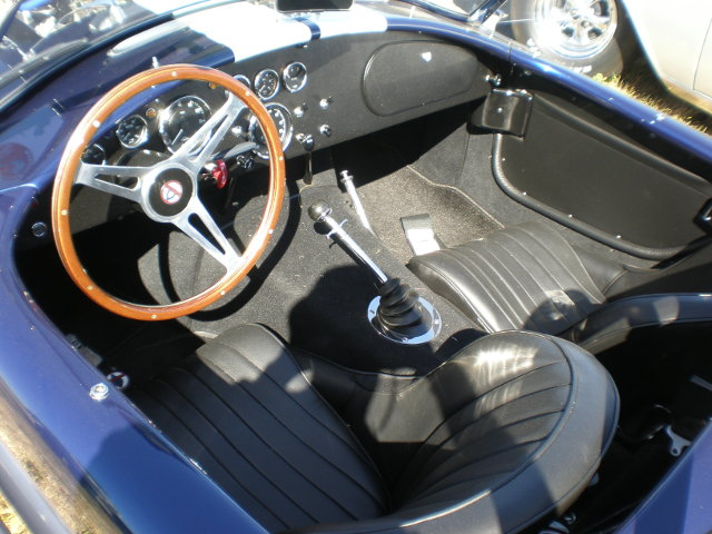 Интерьер AC Cobra MkIII 427 (1965 год)