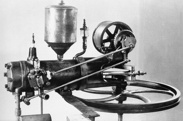 benz-engine